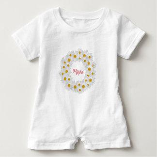 Macacão Para Bebê Anel personalizado delicioso da margarida