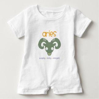 Macacão Para Bebê Aniversário do Aries