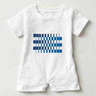 Macacão Para Bebê Azul do inclinação
