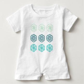 Macacão Para Bebê Azul ventoso