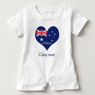 Macacão Para Bebê Bandeira de Austrália