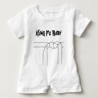 Macacão Para Bebê Bebê de Kung Fu
