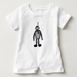 Macacão Para Bebê Bebê do amor do robô ou romper do miúdo