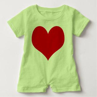 Macacão Para Bebê bebê do coração