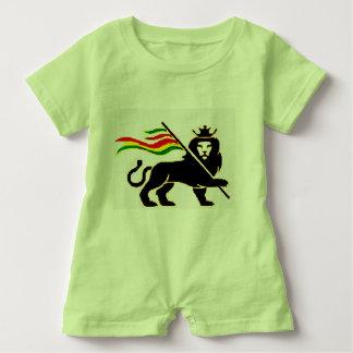 Macacão Para Bebê Bebê real do leão de Rasta