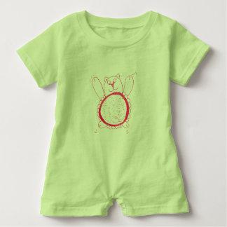 Macacão Para Bebê Bebês Rompa do urso do girassol