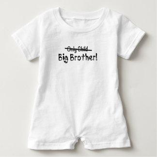 Macacão Para Bebê Big brother (filho único cruzado para fora) bonito
