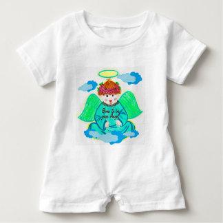 Macacão Para Bebê Bodysuit do bebê (nascer a ser seu anjo)