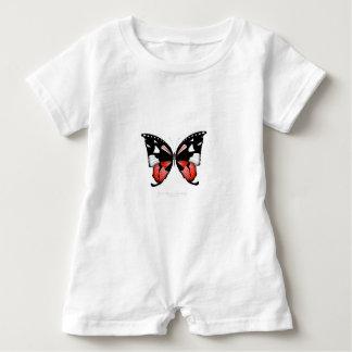 Macacão Para Bebê borboleta do vermelho do figo 4 por fernandes tony