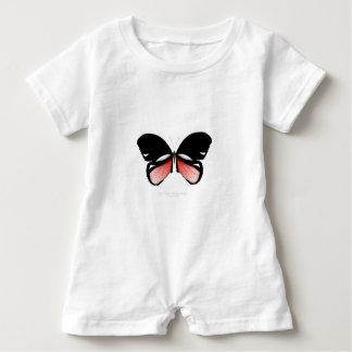 Macacão Para Bebê borboleta do vermelho do figo 5 por fernandes tony
