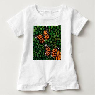 Macacão Para Bebê borboletas