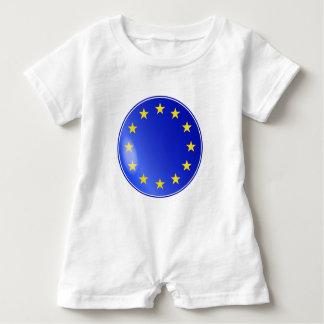 Macacão Para Bebê Botão da UE