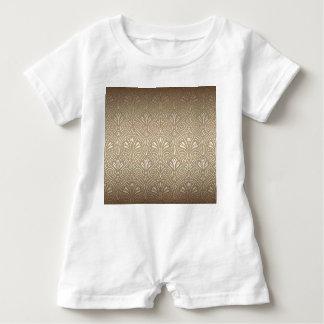Macacão Para Bebê Bronze, ouro, nouveau da arte, art deco, vintage,