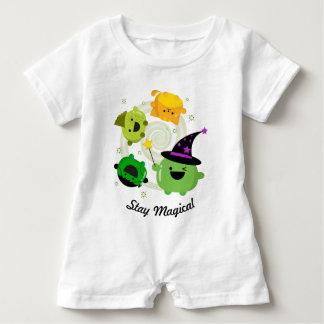 Macacão Para Bebê Bruxa customizável Hocus Pocus do Dia das Bruxas -