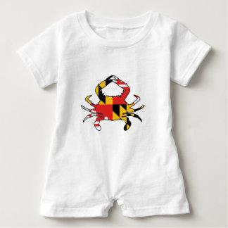 Macacão Para Bebê Caranguejo de Maryland