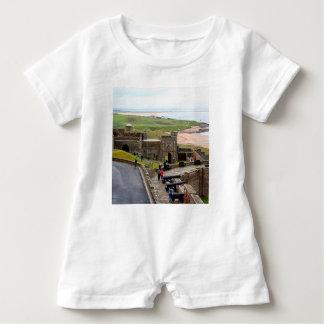 Macacão Para Bebê Castelo de Bamburgh, Northumberland, Inglaterra