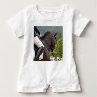 Macacão Para Bebê Cavalo Dressage