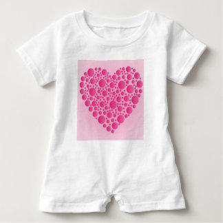Macacão Para Bebê Cervo cor-de-rosa da bolha