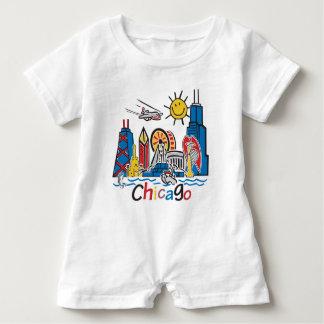 Macacão Para Bebê Chicago caçoa a obscuridade