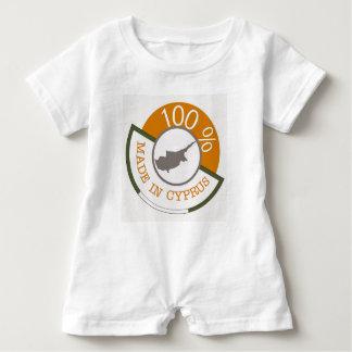 Macacão Para Bebê Cipriota de 100%!