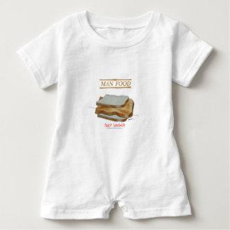 Macacão Para Bebê Comida do homem de Tony Fernandes - sanduíche do