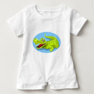 Macacão Para Bebê Crocodilo de Gigant