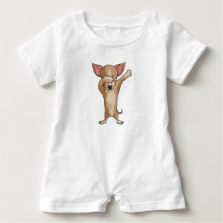 Macacão Para Bebê Dança bonito de Dabber da chihuahua da solha