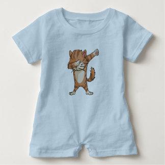 Macacão Para Bebê Dança bonito de Dabber do gato da solha