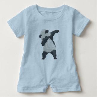 Macacão Para Bebê Dança de Dabber da panda da solha