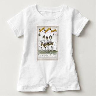 Macacão Para Bebê defensores do futebol de Inglaterra