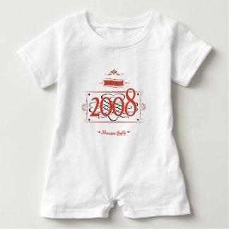 Macacão Para Bebê Desde 2008 (Red&Black)