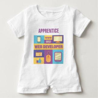 Macacão Para Bebê Design icónico do programador web profissional