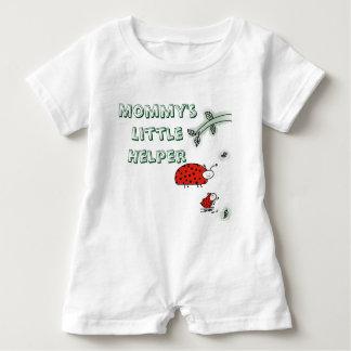Macacão Para Bebê Do inseto pequeno da senhora do ajudante da mamã