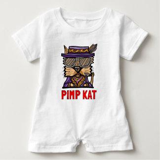 """Macacão Para Bebê Do """"Romper do bebê do Kat proxeneta"""""""