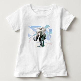 Macacão Para Bebê elefante da África