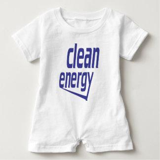 Macacão Para Bebê Energia limpa