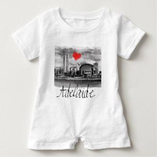 Macacão Para Bebê Eu amo Adelaide