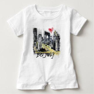 Macacão Para Bebê Eu amo Beijing