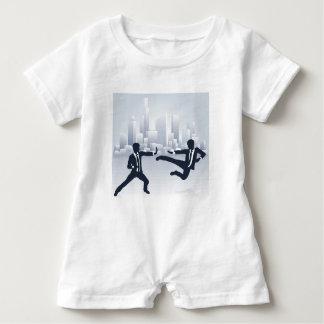 Macacão Para Bebê Executivos da luta de Kung Fu