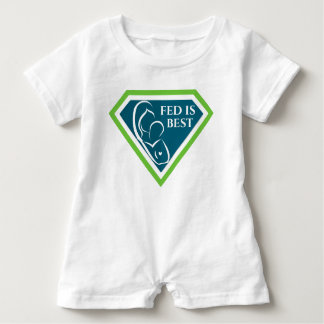 Macacão Para Bebê Fed original é o melhor Romper do bebê do logotipo
