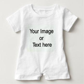 Macacão Para Bebê Feito-à-medida com seu próprio imagem ou texto