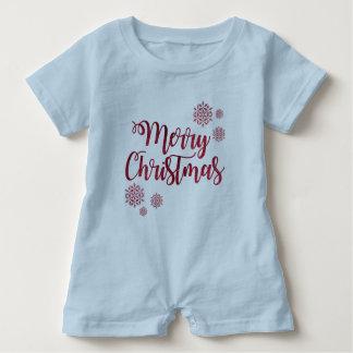 Macacão Para Bebê Feliz Natal