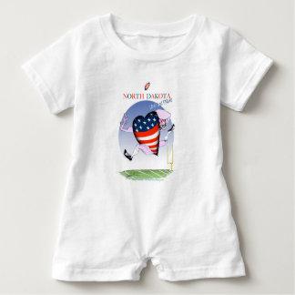 Macacão Para Bebê fernandes tony altos e orgulhosos de North Dakota,