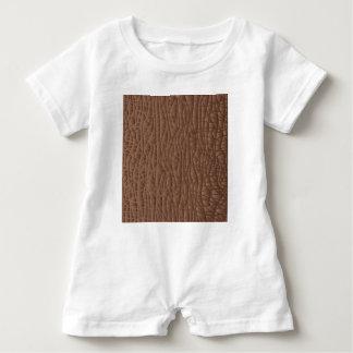 Macacão Para Bebê Fundo abstrato de Brown
