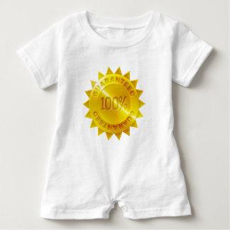 Macacão Para Bebê Ícone garantido da medalha de ouro de 100 por