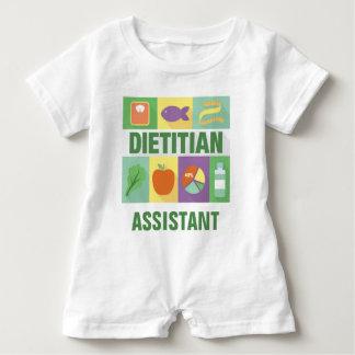 Macacão Para Bebê Icónico profissional da dietista projetado
