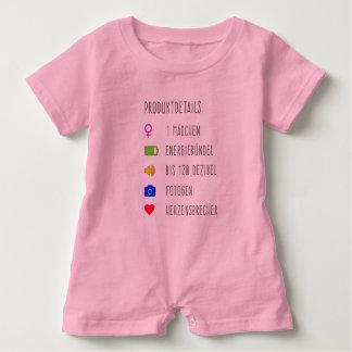 Macacão Para Bebê Informação de producto bebé rapariga