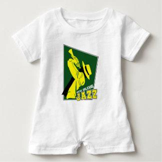 Macacão Para Bebê jazz new orleans