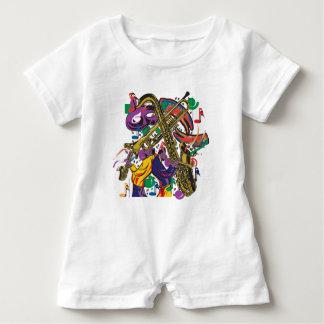 Macacão Para Bebê Jazzístico