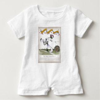 Macacão Para Bebê jogador de futebol do direita de Inglaterra